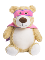 Personalised Cubbies Hero Bear Pink